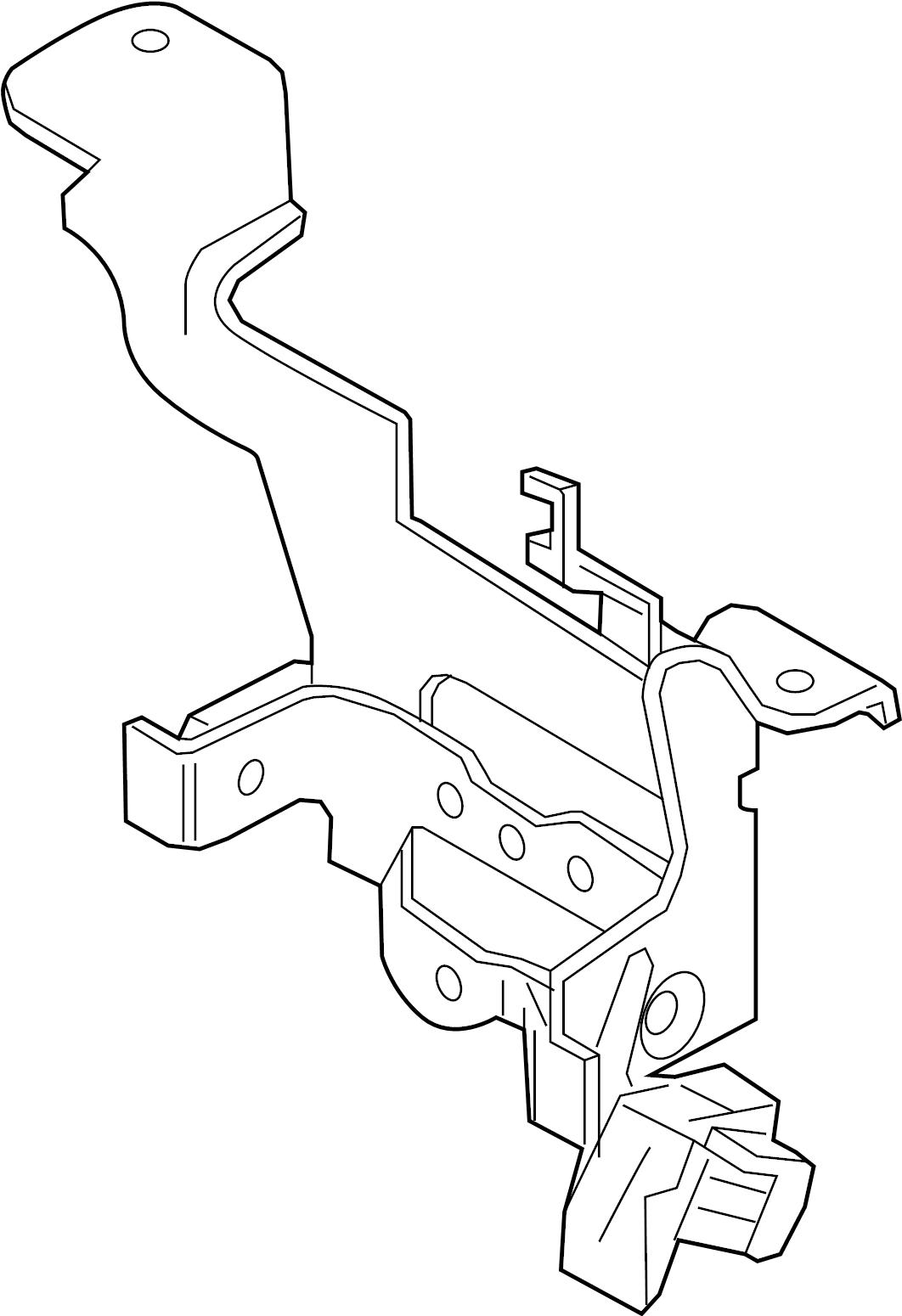 Cruise Ship Engine Control Room: Nissan Murano Cruise Control Distance Sensor Bracket. BODY