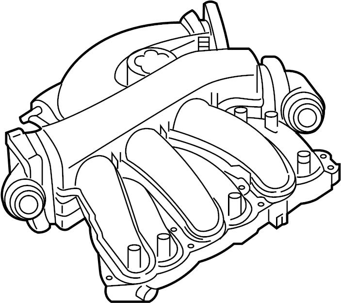 Nissan Murano Engine Intake Manifold  Cover  Exhaust