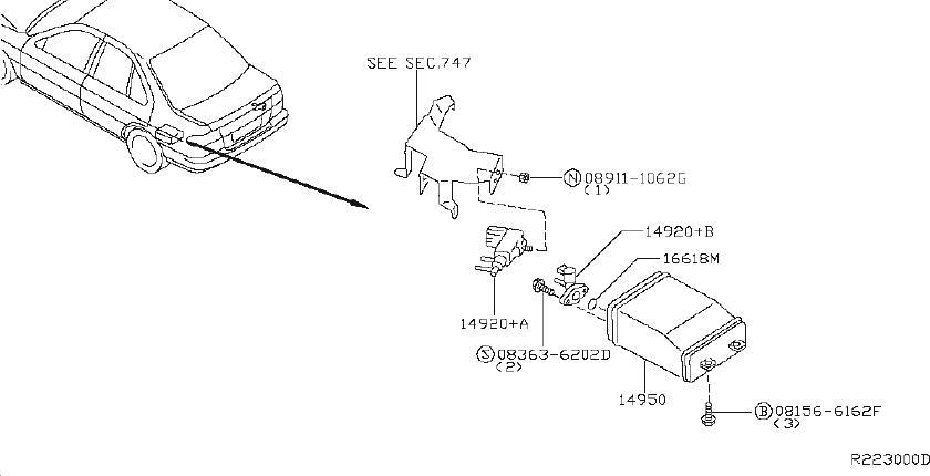 Diagram  1998 Nissan Sentra Gxe Engine Diagram Full