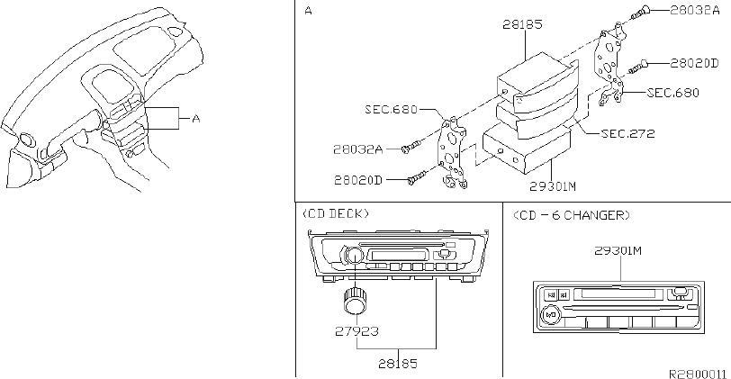 Nissan Sentra Deck Cd  Watt  Speakers  Model