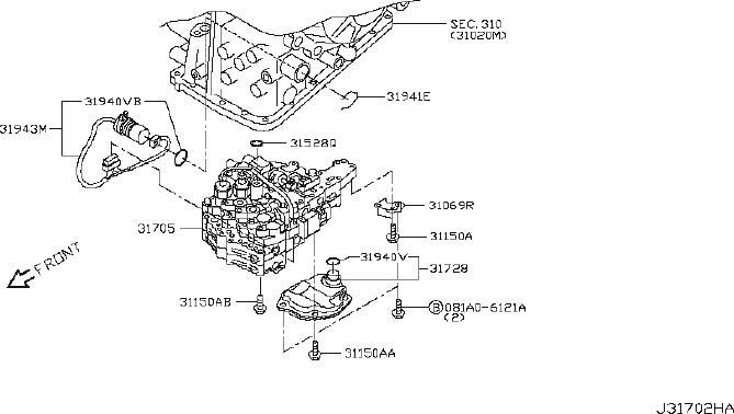 Nissan Sentra Transmission Filter  Cvt