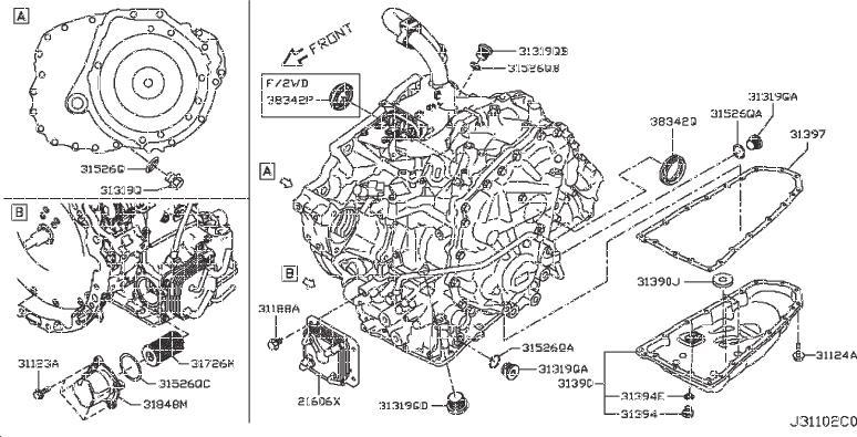 Nissan Pathfinder Plug Thread - 31305-3VX0C | CONICELLI ...
