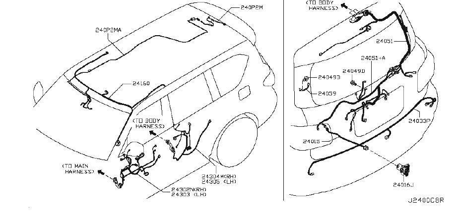 Nissan Armada Fuse Box Cover  Body