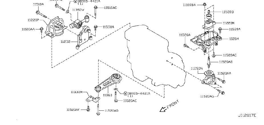 Nissan Cube Bolt  Engine  Cvt